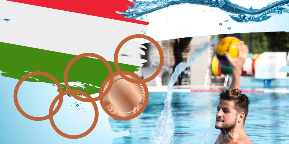 Bronzérmes a magyar férfi vízilabda-válogatott a tokiói olimpián