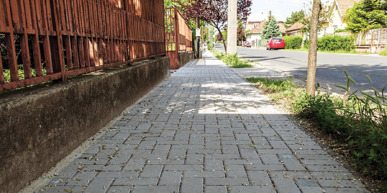 Járdaépítési pályázat a lakosság számára