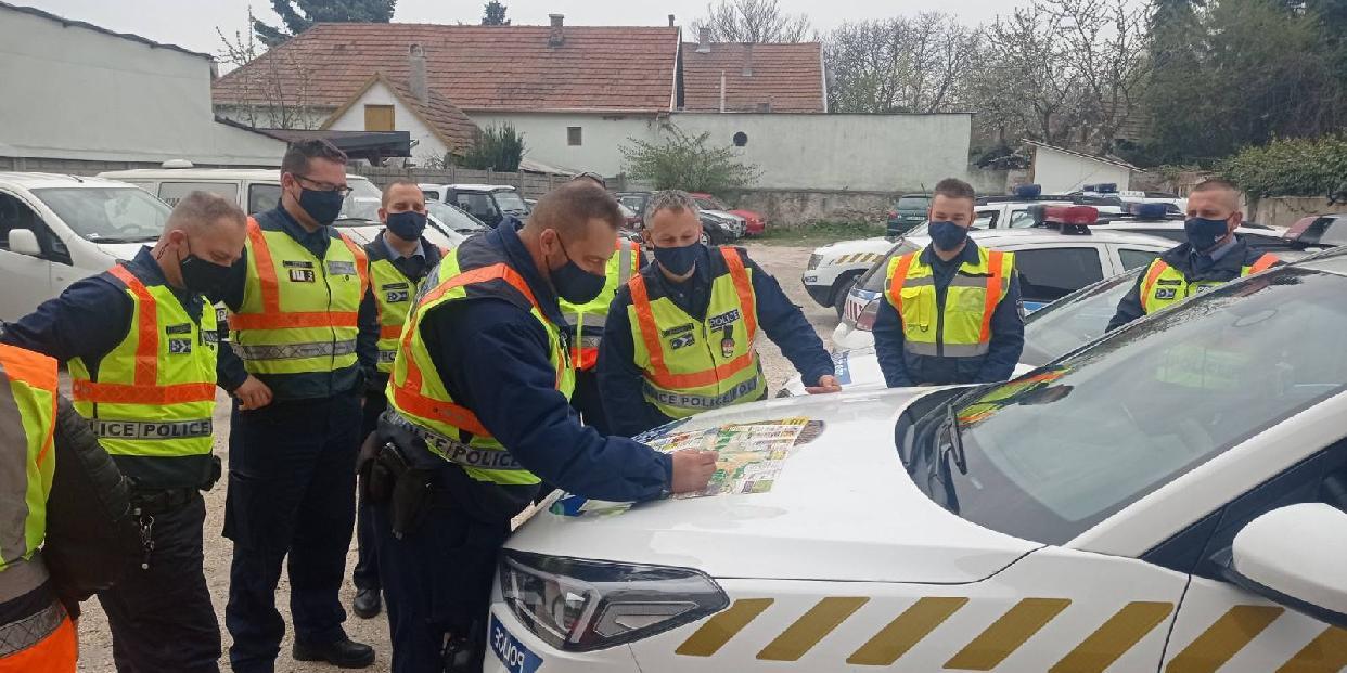 Bűnmegelőzési akcióban vettek részt a pilisvörösvári rendőrök