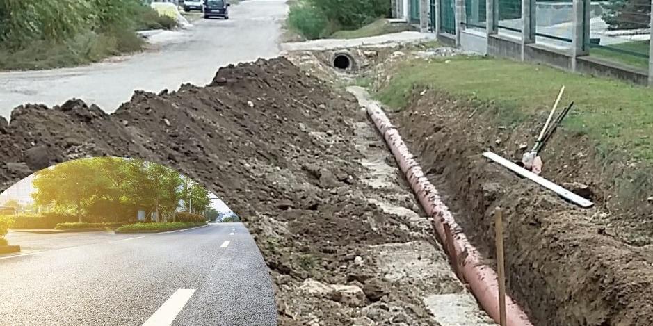 Elkezdődött a Szent Imre utca építése